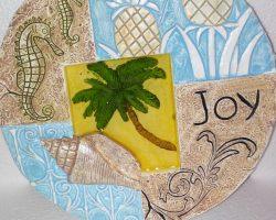 A2-Beach Style Garden Stone -Joy