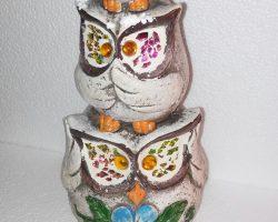 A24-Trio Owl Statue
