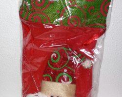 C7-Santa Wine Bottle Cover