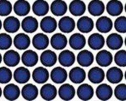 Penny Round Cobalt Blue