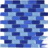 Crystal Cobalt Blue Brick Blend