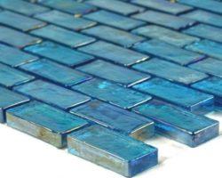 Poured Turquoise Brick